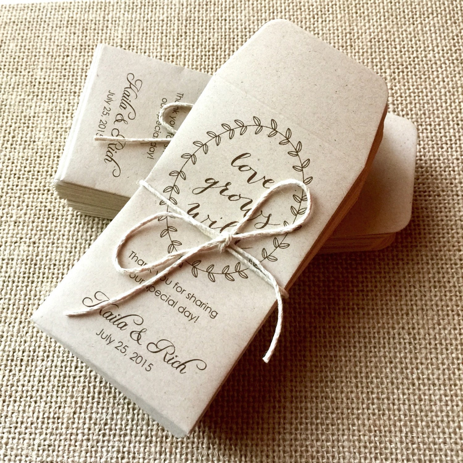 Let Love Grow Wedding Favors | Giftwedding.co