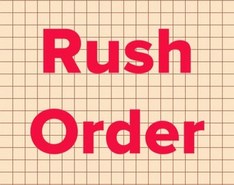 Rush any button order
