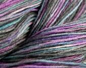 Wonder Sock yarn Skittles superwash Blueface