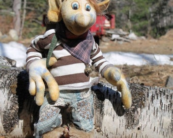 Avril, The Goblin Traveller, new sewing pattern, PDF download