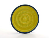 Soap Dish Textured Blue and Pear Green