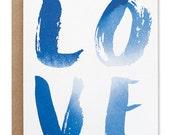 Love Indigo Card