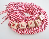 3 Pairs of Valentine Red and White Candy Cane Striped Cotton Shoelaces, Ties, Peppermint Twist