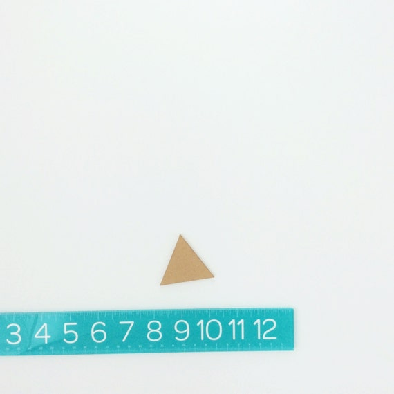 "triangles PAIR (2"")"