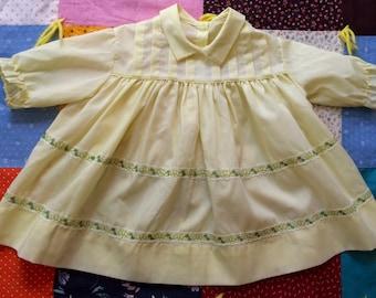 70s Baby Dress 12-18 Months
