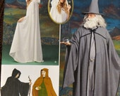 Sewing Pattern Simplicity 1582 Misses' Capes Tunic Hat Costume Uncut Complete