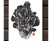 "Tat Soi 11""x14"" Letterpress Art Print"