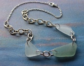 One of a Kind Seaglasss Necklace- Nym