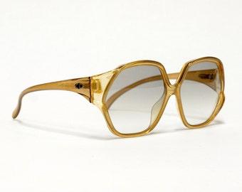 70s DIOR Sunglasses, vintage deadstock, oversized sunglasses, designer eyewear in unworn condition.