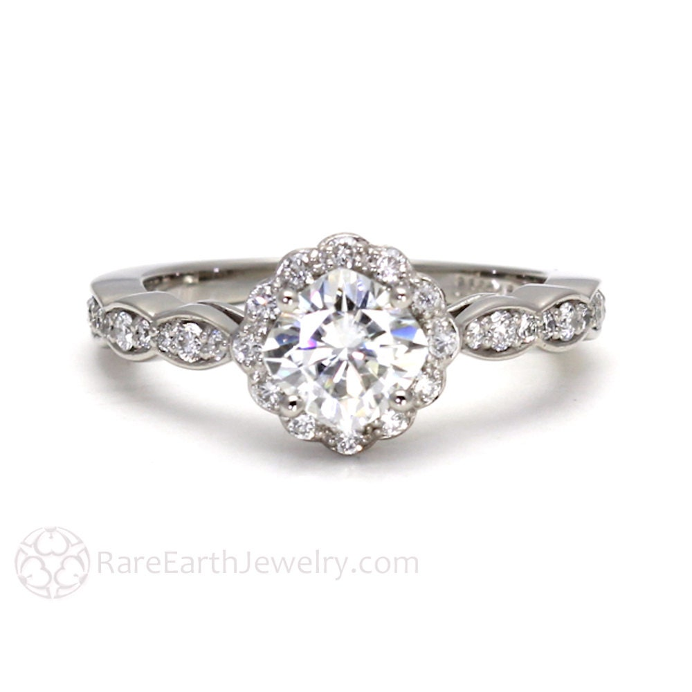 Natural Diamond Ring Etsy