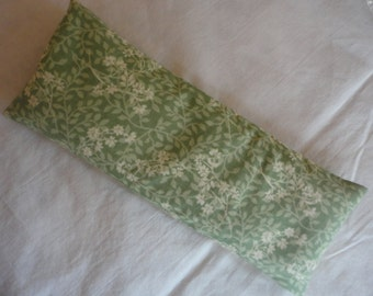 Flaxseed Lavendar Cotton Fabric Unbleached Muslin Eye Pillow Headaches BooBoos Removable Cover