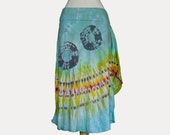 Tie Dye Skirt Lotus Size Large