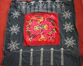 Textiles -  Hmong Baby Carrier/ Hmong / Miao fabric / Hmong embroidery panels - 2083