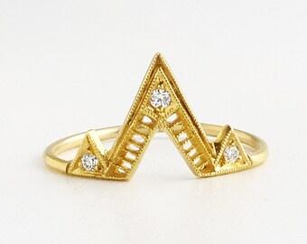 Giza Portal Ring