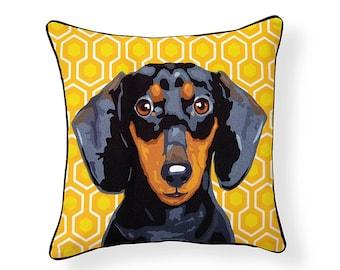 Pooch Décor: Dachshund Pillow