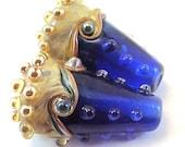 Sapphire Twisted Organic Cones