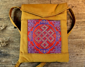 Eternal Knot Passport Bag