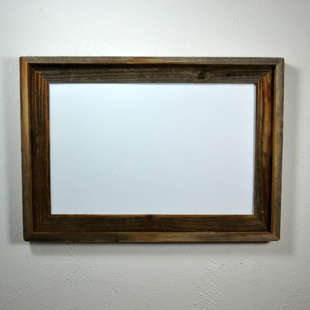11x17 Repurposed Wood Poster Frame By Barnwood4u On Etsy