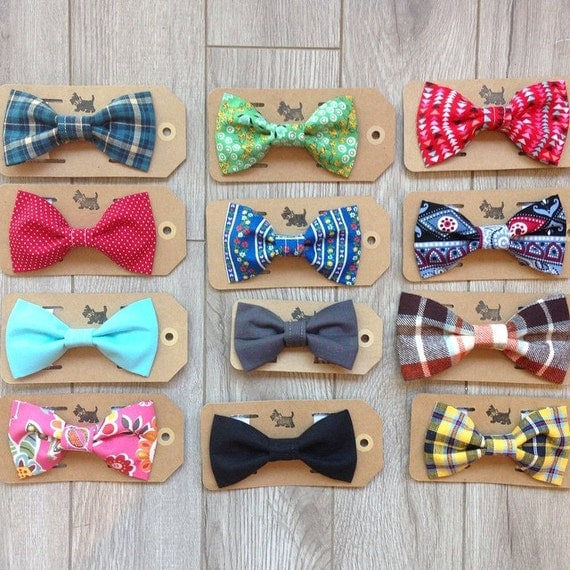 any 3 bow ties bowties for cats and dogs bow by