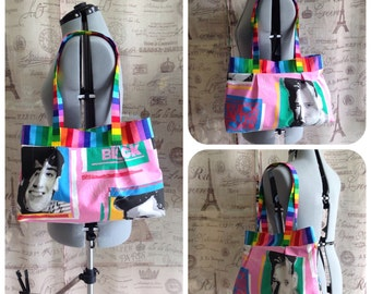 NKOTB Tote Bag Purse Handbag New Kids On The Block CUSTOM ORDER