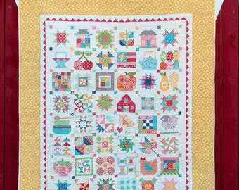 SALE Farm Girl Vintage Quilt Book signed by Lori Holt
