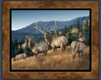 Elk Panel Lookout Peak Wildwings 1 Panel