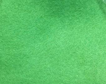 BRAND NEW Magical Forest Wool Felt Blend Sheet - green wool felt-wool felt hairbow - wool felt headband - wool felt rose - wool felt flower