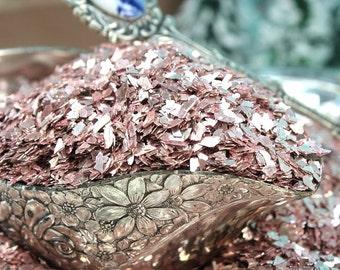 Pink Silver Super Shard Glitter
