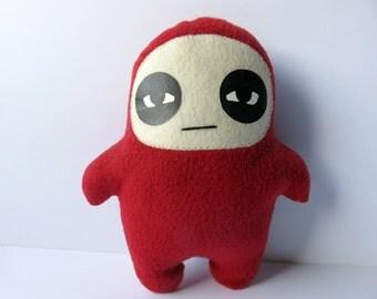 Kids Toys Plush Stuffed Red Glum Ninja Doll