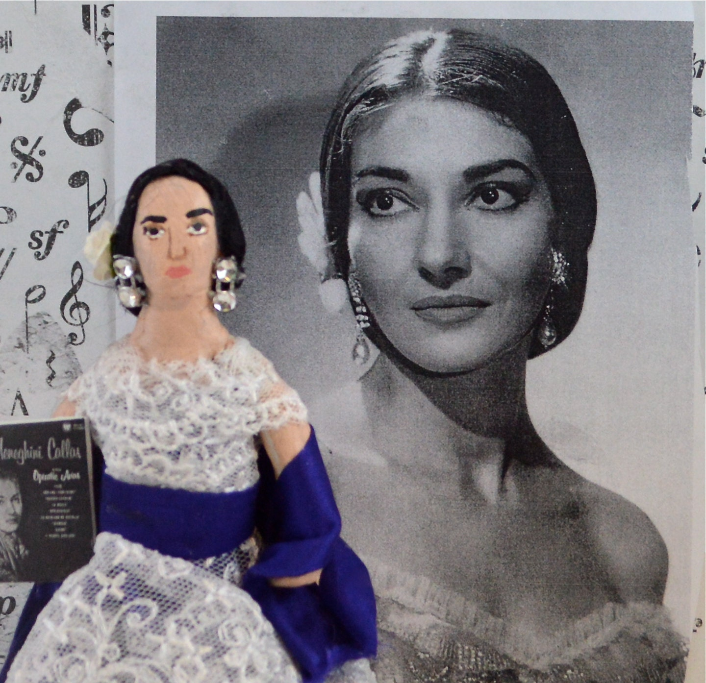 Maria Callas   Wikipedia Maria Callas with her poodle Toy
