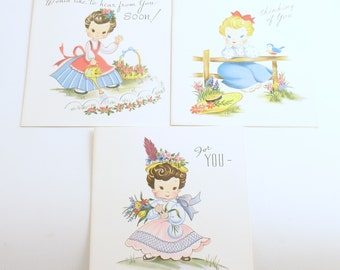 Vintage Lil Honey Notecards Greeting Cards Notes