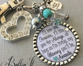 Mom Gift, Mom necklace, Personalized Gift, I'll love you forever, like you for always, my best friend and inspiration, I love and appreciate