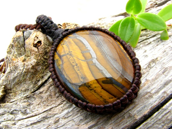 tiger iron necklace tigers eye jewelry healing stones