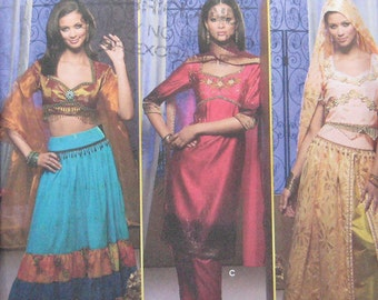 Simplicity Costume Belly Dancer Pattern 4249
