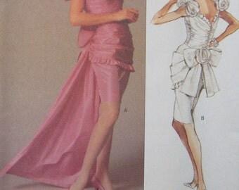 Vogue Bellville Sassoon Dress and Train Pattern 2277