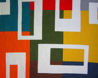AUSTIN MODERN Quilt from Quilts by Elena