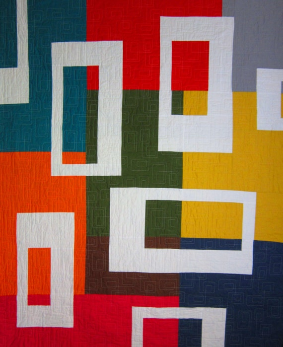 PDF Pattern AUSTIN MODERN Quilt Pattern from Quilts by Elena