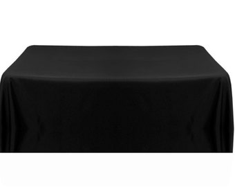 Solid Color Tablecloth Round banquet table