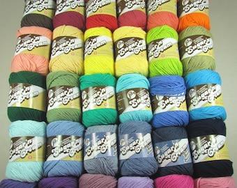Lily Sugar'n Cream Cotton Yarn - 37 Balls