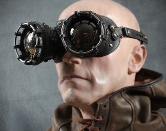 OptiScope goggles in Black  Steampunk