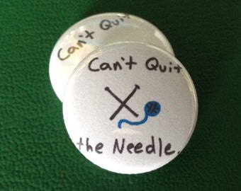 """cant quit the needle 1"""" button"""