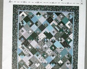 Quilt Pattern - Hip To Be Square, Patchwork Quilt Pattern