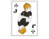 Jack of Clubs print