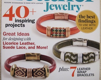 Leather Jewelry Magazine 40 Plus Inspiring Projects Winter 2015 Issue