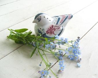 vintage Elizabeth Arden porcelain pomander bird figurine