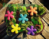 May Flowers Badge Holder - Seasonal