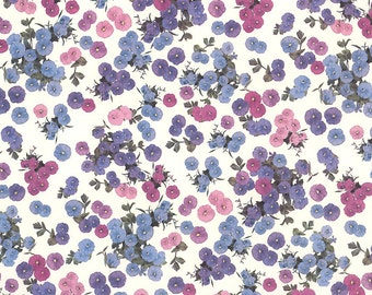 Petite Morning Glory Flowers Italian Paper ~ Tassotti Italy  IPT626