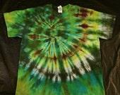 Tie Dye Cotton T-Shirt ADULT XL Sale