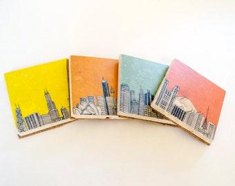 City Coaster Set of 4