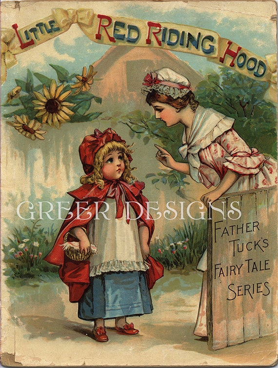 Vintage Children S Book Cover Prints ~ Items similar to antique children s book cover print